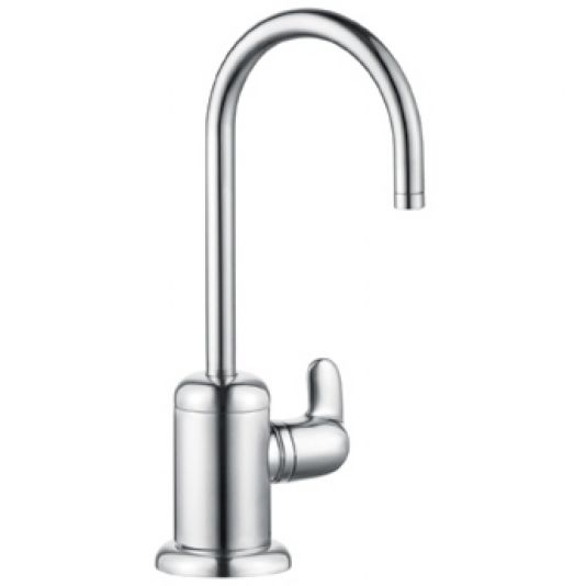 hansgrohe allegro e kitchen faucet how to paint your cabinets choose a sink: part iii - abode
