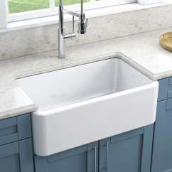 Fireclay Kitchen Sink Round Tables And Chairs Sinks Everything You Need To Know Qualitybath