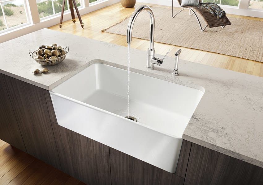 Fireclay Kitchen Sink White Review Home Co