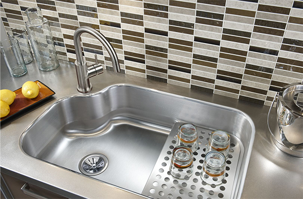 kitchen sink size canac cabinets for sale how to choose qualitybath com discover elkay mystic 32