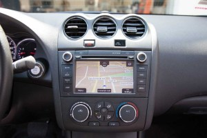 Rosen Navigation for Nissan Altima – Installed