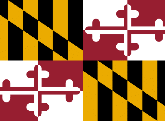 Maryland cannabis consulting flag