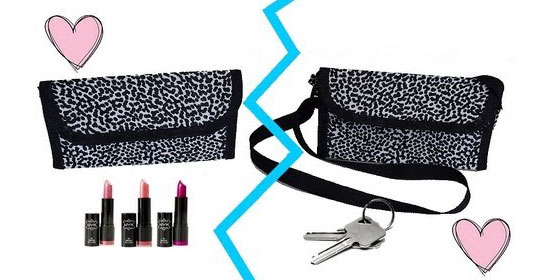 pochette maquillage ou sac