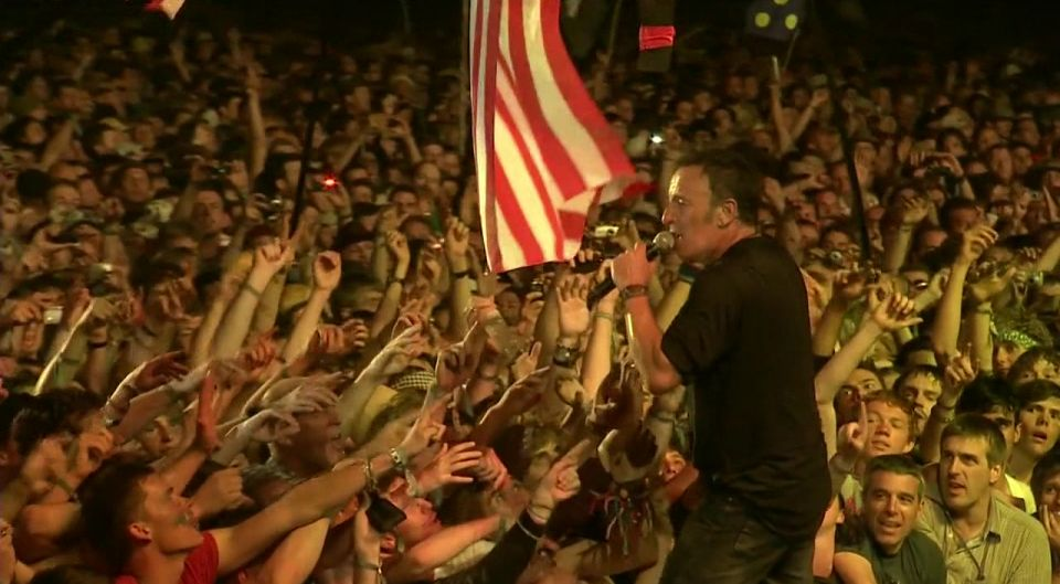 Bruce Springsteen  The E Street Band Live at Glastonbury