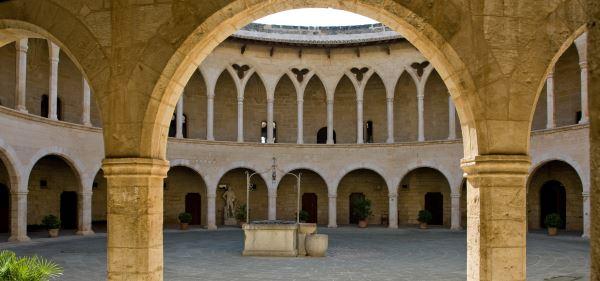 Interior del Castillo de Bellver