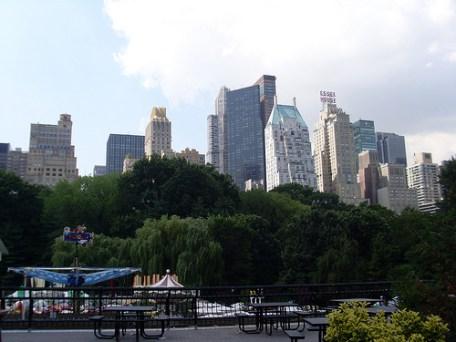 Vistas desde Central Park (Nueva York)