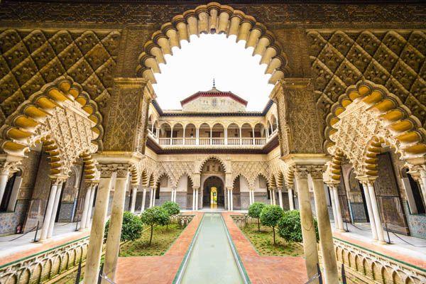 Palacio del Yeso del Real Alcazar de Sevilla