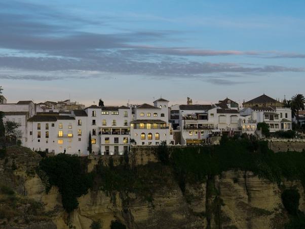 Casa blancas en Ronda