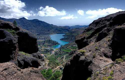La presa de Chira (Gran Canaria)