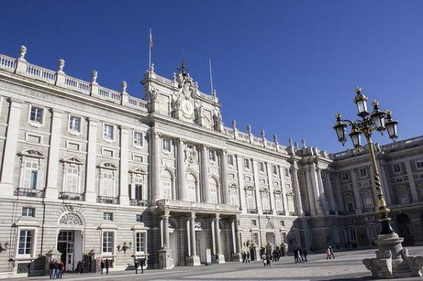 Palacio Real de Madrid fachada