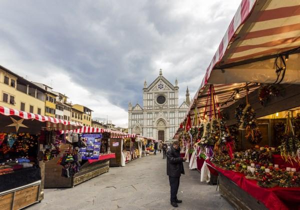 Mercado Navidad Florencia