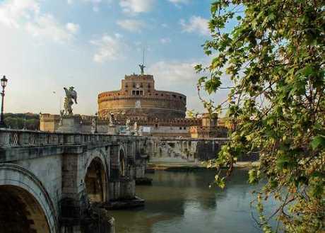 Castillo Sant'Angelo, Roma, Italia