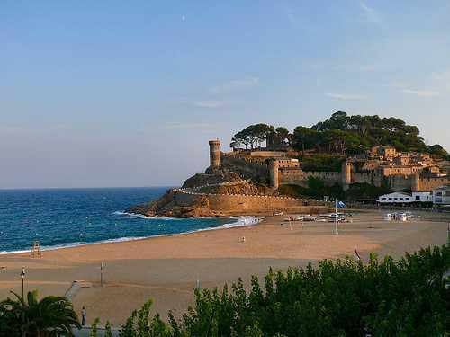 Tossa de Mar, costa Brava, Cataluña