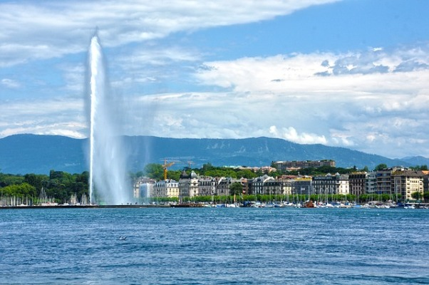 Chorro de agua de Ginebra