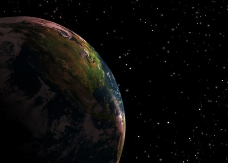 Estrellas, planetas, la Tierra