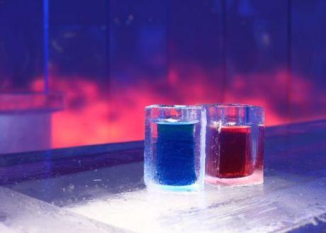 Vasos de hielo