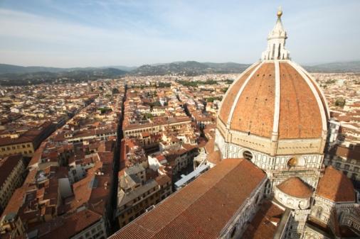 Vista aérea de Florencia