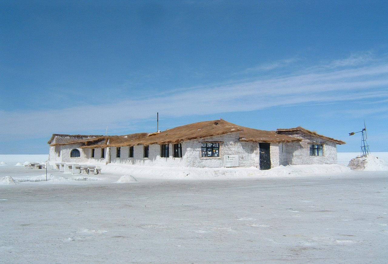 Hotel de Sal en Bolivia