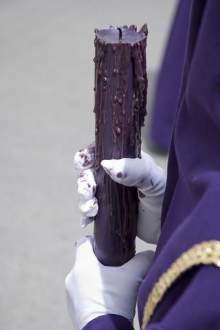 Nazareno durante una procesión