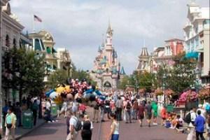 Calle principal Disneyland