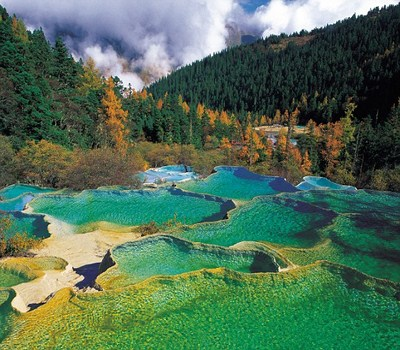 Huanglong Nnatural Preserve,Sichuan