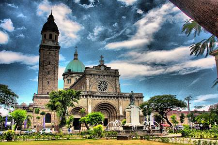 Turismo por Manila, capital de Filipinas