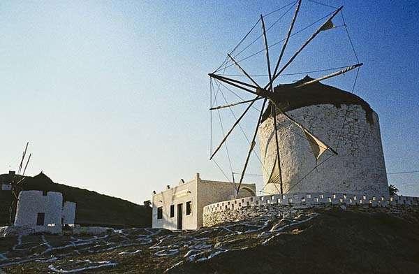 Isla de Ios en Grecia