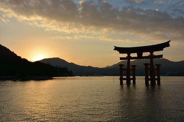 Japón atardecer