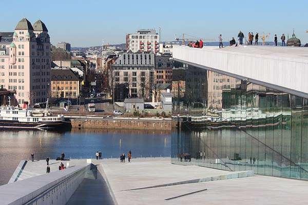 Oslo desde la Opera House