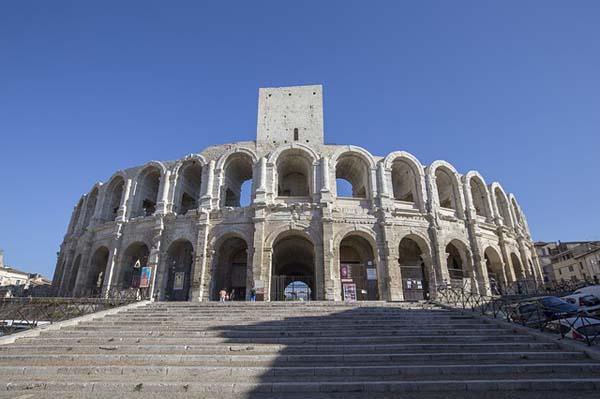 Anfiteatro romano en Arles