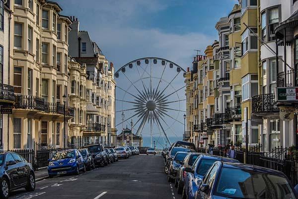 Brighton vistas a la Noria