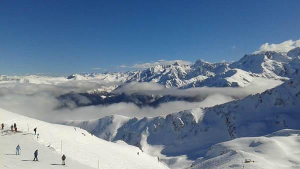 Esquí en los Pirineos