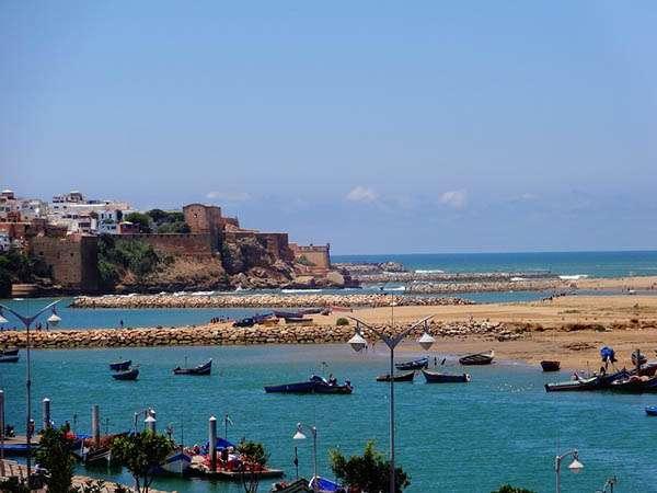 Rabat junto al mar