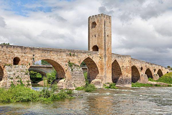 Puente Medieval en Frias Burgos