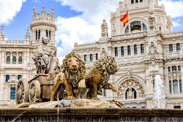 Estatua de la Cibeles en Madrid