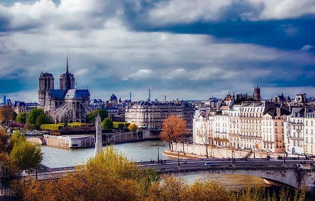 Vistas del Sena en Paris