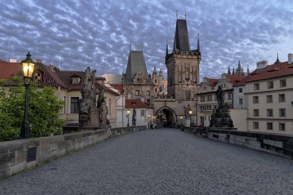 Praga en San Valentin