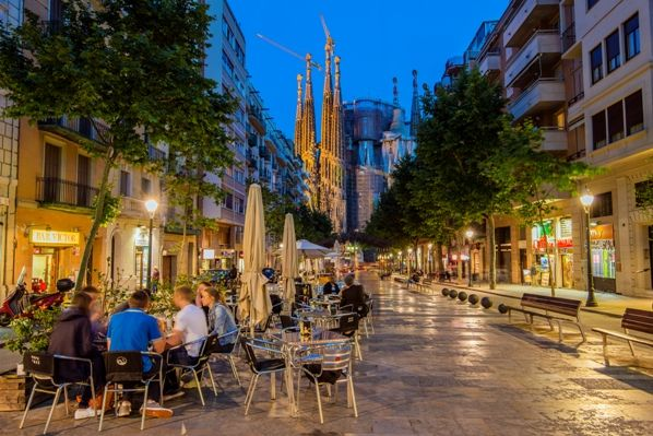 Café en Barcelona
