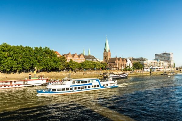 Vistas de Bremen - Alemania