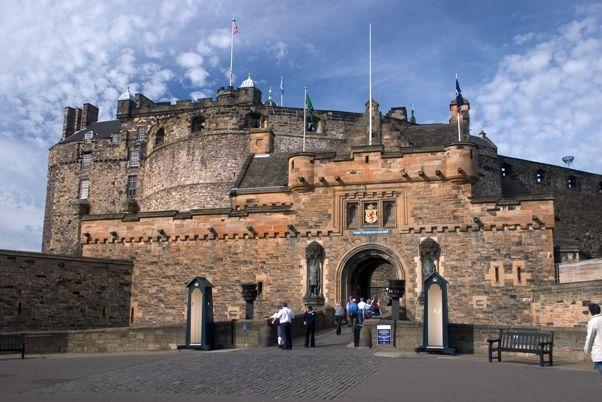 Castillo de Edimburgo entrada