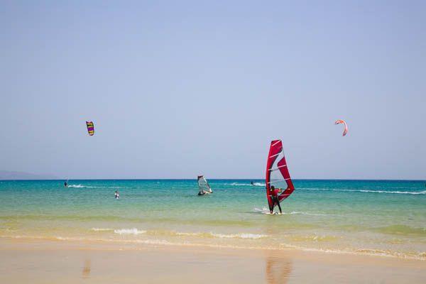Fuerteventura - windsurfing