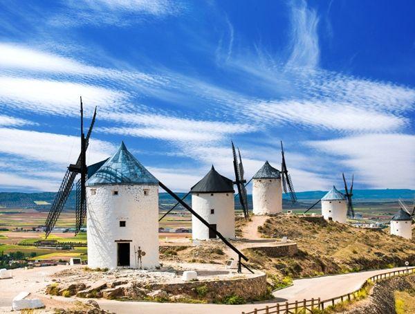 Ruta de Molinos en Castilla la Mancha
