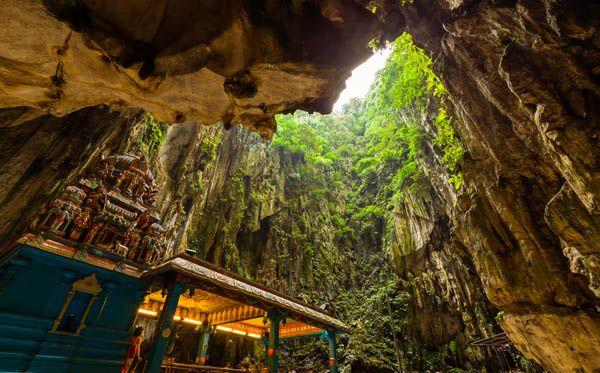 Cuevas de Batu en Malasia
