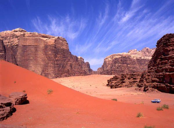Desierto del Wadi Rum