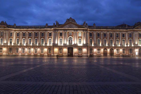 Plaza en Toulouse