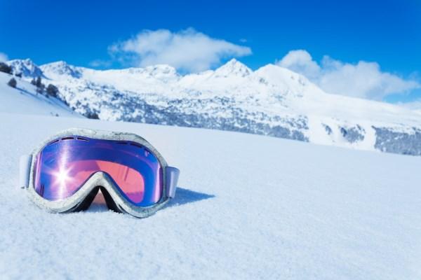 Máscara para esquiar