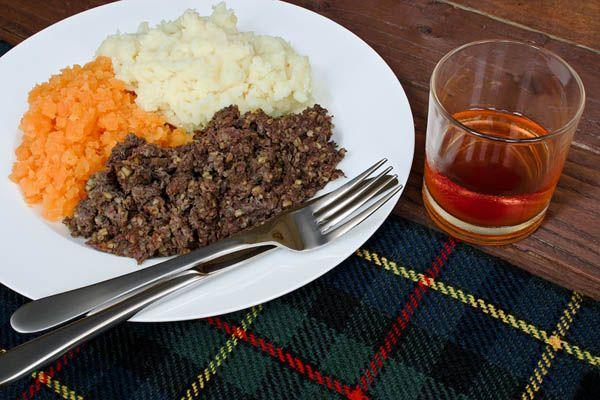 Haggis - comida en Escocia