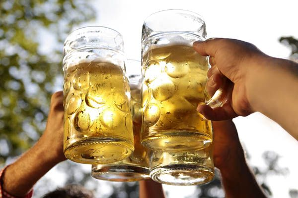 Beber cerveza en Berlín