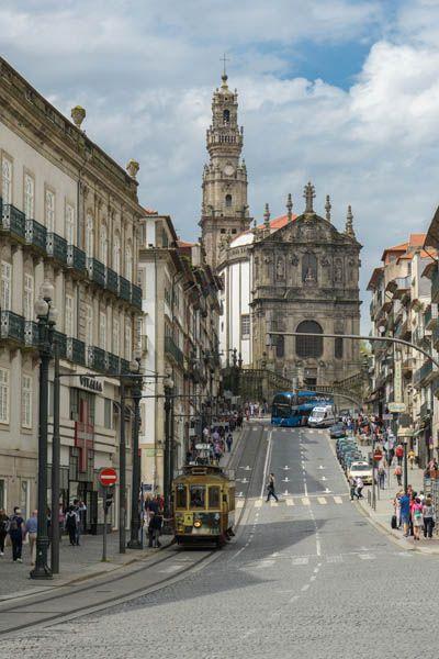 Monasterio de los Clérigos en Oporto