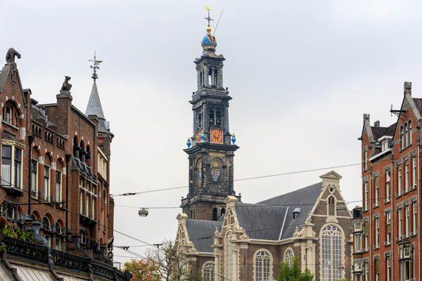 Westerkerk en Amsterdam